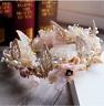 Beautiful Shell Flower Tiara Crown Headband Elf Fairy Queen Mermaid Wedding