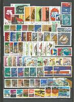 DDR 1976 gestempelt  kompletter Jahrgang mit allen Einzelmarken