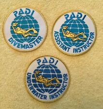 New listing Padi Professional Level Scuba Patches - 3 Patches Total As Shown