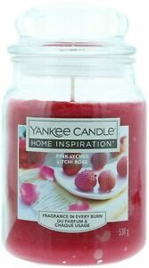 Yankee Candle Home Inspiration Large Jar Pink Lychee 538g