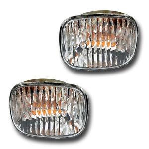 Fits 05-09 Uplander Montana Driver + Passenger Side DRL Signal Light Lamp 1 Pair