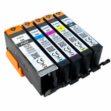 5 Originale SETUP Canon Druckerpatronen PGI-580 CLI-581 für PIXMA TR8550 TS6250