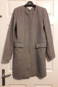 H&M Size 8 Ladies Formal Wool Dress Coat