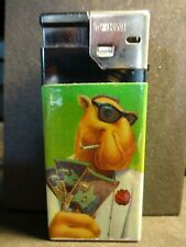 Vintage Joe Camel  Cigarette Lighter  *Strike it Rich Camel Cash Lotto*