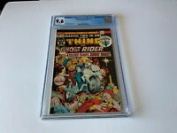 MARVEL TWO-IN -ONE 8 CGC 9.6 WHITE PAGES GHOST RIDER SILENT NIGHT MARVEL COMICS