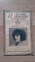 El Guía de La Concierto Y Las Teatro Letra - Elli Ney - N º 31-1928