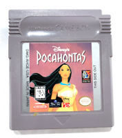 Disney's Pocahontas ORIGINAL NINTENDO GAMEBOY GAME Authentic + TESTED ++ WORKING