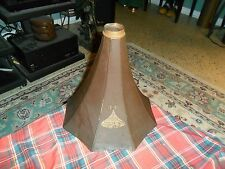 Antique THOMAS EDISON Fireside PHONOGRAPH 8 PETAL HORN BELL SECTION For Repair