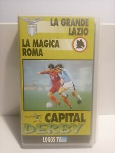 VHS LA GRANDE LAZIO LA MAGICA ROMA CAPITAL DERBY OTTIME CONDIZIONI