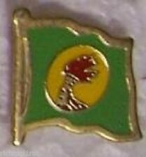 Hat Lapel Pin Tie Tac Push Flag of Zaire NEW