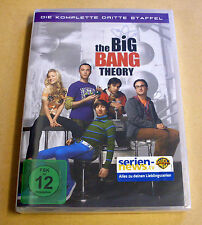 DVD Box The Big Bang Theory Staffel Season 3 Die komplette dritte Staffel Neu