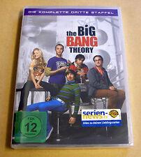 DVD Box The Big Bang Theory Staffel Season 3 Die komplette dritte Staffel Neu