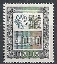 1979 ITALIA ALTO VALORE 4000 LIRE MNH ** - ED