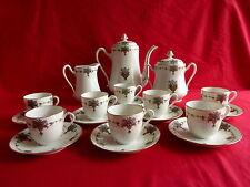 service à café en porcelaine de limoges,8 personne