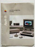 Vtg 1984 Apple IIe AIIE Computer Info Advertising Brochure Promotional Ephemera