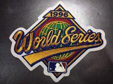 "New York Yankees Vs. Atlanta Braves 1996 World Series 7"" X 8.25"" MLB Felt Patch"