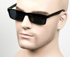 Gangster Slim Square Sunglasses OG LOC Style Dark Smoke/Gray Polarized 59PL