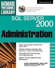 SQL Server 2000 Administration (Book/CD-ROM) Linsebardt, Mark, Stigler, Shane,