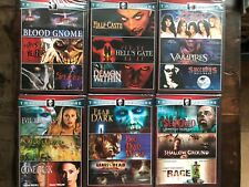 DVD lot New Free Ship 18 Horror movies Blood Gnome Angels Evil Remains Severed
