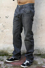 GF FERRE VINTAGE FADED JEANS DENIM GREY 80s STRAIGHT LEG Sz47 W33 ITALY SLIM!!