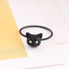 Popular Golden Women Ring Pussy Cat Size Rhinestones Fashion Jewelry Tempting