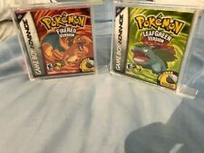 POKEMON FIRE RED AND LEAF GREEN 1ST PRINT!!! BRAND NEW! FACTORY SEALED! PERFECT!
