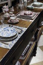 Richard Ginori - Oro Di Doccia Magenta - Dishes 21 Pz x 6 Persons - Dealer
