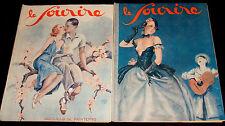 1932 Le Sourire No.770/1 & 777/8 Art Deco magazines, erotic illustrators, Risque