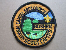 Goshen Scout Camps BSA Woven Cloth Patch Badge Boy Scouts Scouting