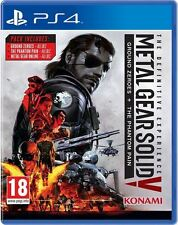 PS4 Metal Gear Solid V Definitive Experience | PlayStation 4 - Brand New