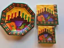 Kwanzaa Plates & Napkins Holiday Paper Party Tableware African American