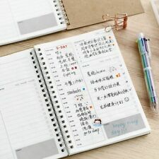 Notebooks 2020 2021 Planner Diary Weekly Spiral Organizer A5 Note Books Monthly