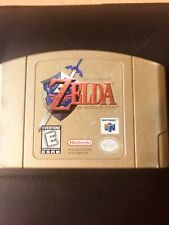 Zelda: Ocarina of Time Gold Collector's Edition (Nintendo 64, N64) Game Cart