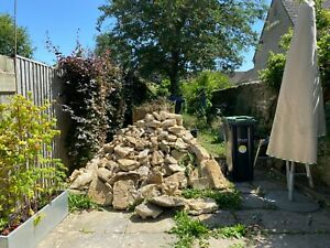 Reclaimed Cotswold building/walling stone 1-2 tonnes