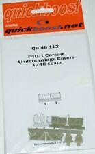 F4U-1 Corsair undercarriage covers (Tamiya) in 1/48 von Quickboost