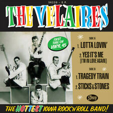 The Velaires ( Vinyl, 7″, EP, 45 RPM ) The Hottest Iowa Rock'n'Roll Band! sealed
