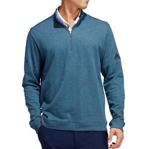Adidas Golf Men's Heathered 1/4-Zip Layering Sweatshirt NEW