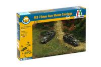 Italeri 7510 M3 75mm GMC Set of Two 1/72 Scale Plastic Model Kits