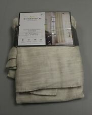 "Threshold 95""x52"" Room Darkening Window Curtain Panel - Ivory"