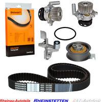 CONTI Zahnriemen+2xSpann/Umlenkrolle+Wasserpumpe AUDI A4 A6 VW PASSAT 1.8 T Mot.