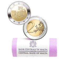 """ROULEAU  ROLL - 25 x 2€ COINS MALTE  MALTA  2016 -""""Ġgantija"""""""