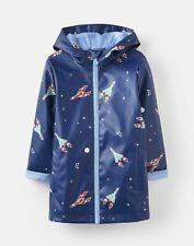 Joules 208591 Raincoat - BLUE ROCKET Size 9yr-10yr