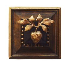 """Museum Bees - Wooden Frame w/ Strawberry - 3"""""""