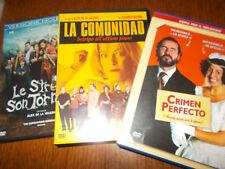 LOTTO 3 DVD ALEX DE LA IGLESIA  LA COMUNIDAD CRIMEN PERFECTO STREGHE SON TORNATE
