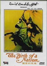 The Birth of a Nation DVD Lillian Gish Mae Marsh D.W. Griffith NEW 1915 R0
