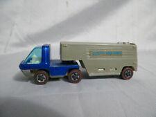 Vtg 1969 Mattel Redline Hot Wheels The Heavyweights (Blue) Van Lines Hong Kong