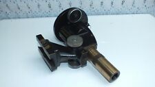 Carl Zeiss Jena Toolmakers Microscope Part with Lens attachment & Brass Eyepiece