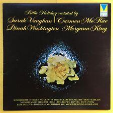 Billie Holiday Revisited By Sarah Vaughn, Carmen Mc Rae, Dinah Washington, Ex+