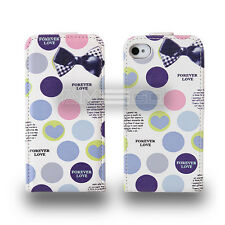 Circles Graphic Prints Flip leather case for smart phone Samsung Sony Apple HTC