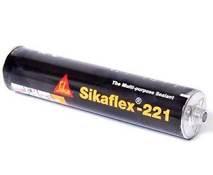 Sikaflex 221 300 ml in schwarz Spoilerkleber Karosseriekleber Kleber NEU